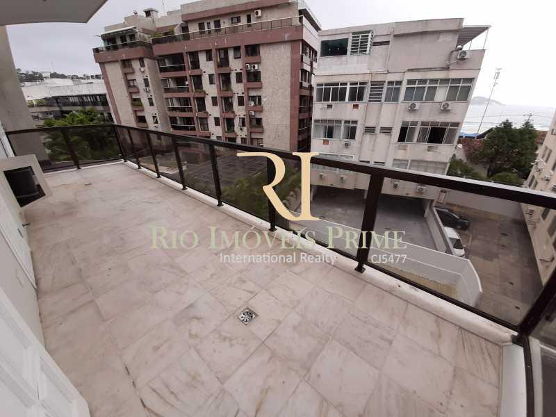 VARANDA SUÍTE1 - Cobertura à venda Avenida General Guedes da Fontoura,Barra da Tijuca, Rio de Janeiro - R$ 4.449.900 - RPCO40015 - 6