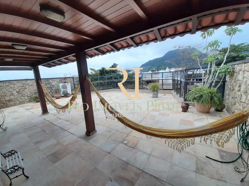 TERRAÇO - Cobertura à venda Avenida General Guedes da Fontoura,Barra da Tijuca, Rio de Janeiro - R$ 4.449.900 - RPCO40015 - 20