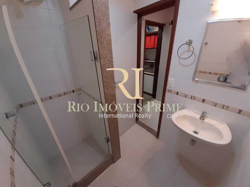 BANHEIRO HOME OFFICE ANEXO - Cobertura à venda Avenida General Guedes da Fontoura,Barra da Tijuca, Rio de Janeiro - R$ 4.449.900 - RPCO40015 - 24