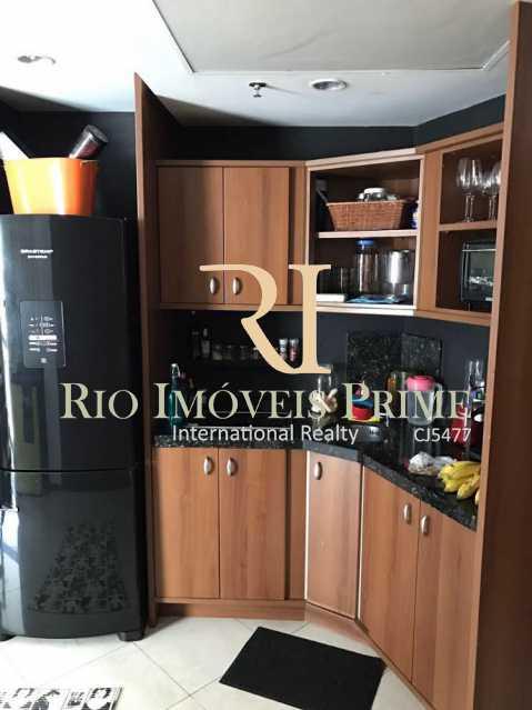 COZINHA COM GELADEIRA DUPLEX - Flat 1 quarto à venda Barra da Tijuca, Rio de Janeiro - R$ 749.900 - RPFL10014 - 5