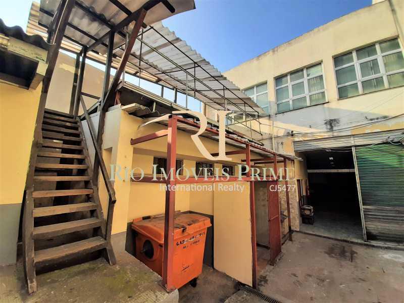ÁREA EXTERNA - Galpão 983m² à venda Rua Figueira de Melo,São Cristóvão, Rio de Janeiro - R$ 1.800.000 - RPGA00003 - 9