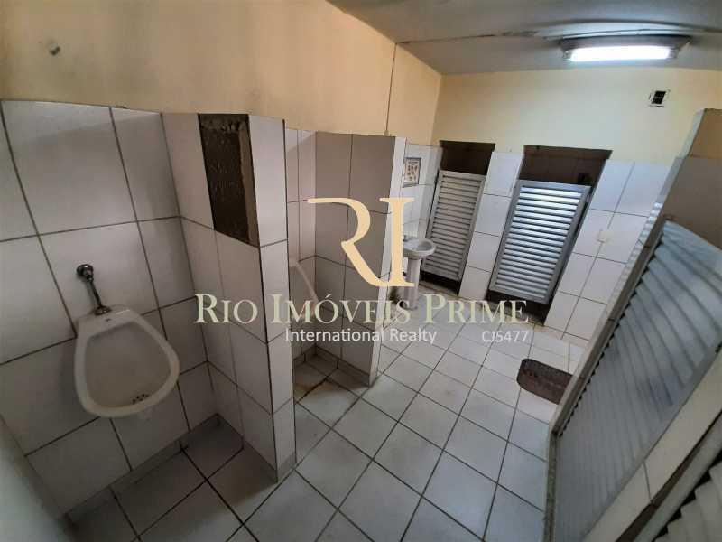 BANHEIROS - Galpão 983m² à venda Rua Figueira de Melo,São Cristóvão, Rio de Janeiro - R$ 1.800.000 - RPGA00003 - 10