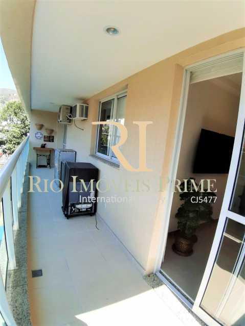 4 VARANDA - Apartamento 3 quartos à venda Grajaú, Rio de Janeiro - R$ 629.999 - RPAP30135 - 5