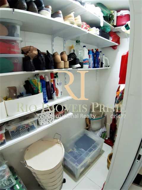 16 WC - Apartamento 3 quartos à venda Grajaú, Rio de Janeiro - R$ 629.999 - RPAP30135 - 17