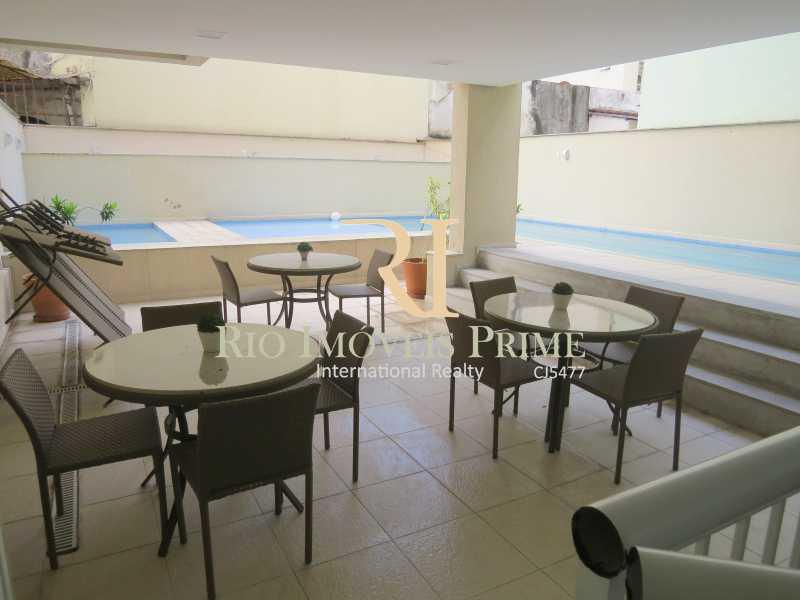 21 ESPAÇO DA PISCINA - Apartamento 3 quartos à venda Grajaú, Rio de Janeiro - R$ 629.999 - RPAP30135 - 22