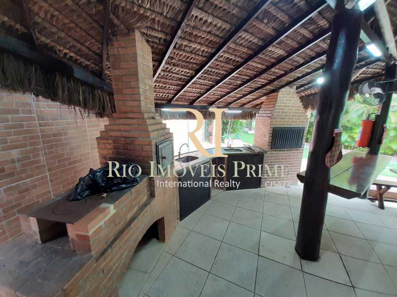 CHURRASQUEIRA - Apartamento 2 quartos à venda Recreio dos Bandeirantes, Rio de Janeiro - R$ 550.000 - RPAP20211 - 25
