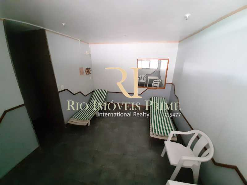 SAUNA - Apartamento 2 quartos à venda Recreio dos Bandeirantes, Rio de Janeiro - R$ 550.000 - RPAP20211 - 26