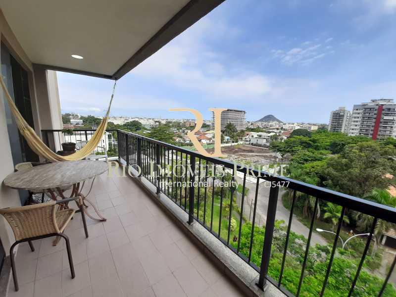 VARANDA - Apartamento 2 quartos à venda Recreio dos Bandeirantes, Rio de Janeiro - R$ 550.000 - RPAP20211 - 1