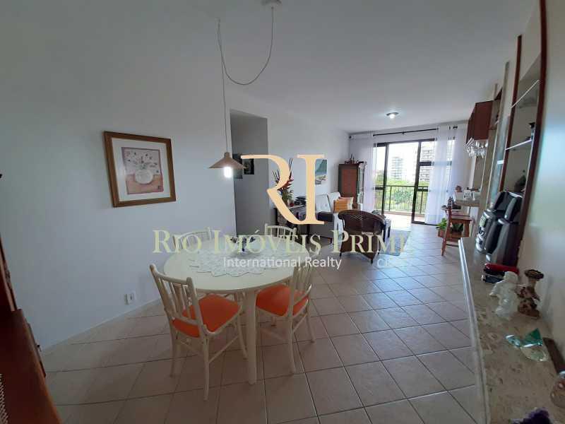 SALA - Apartamento 2 quartos à venda Recreio dos Bandeirantes, Rio de Janeiro - R$ 550.000 - RPAP20211 - 4