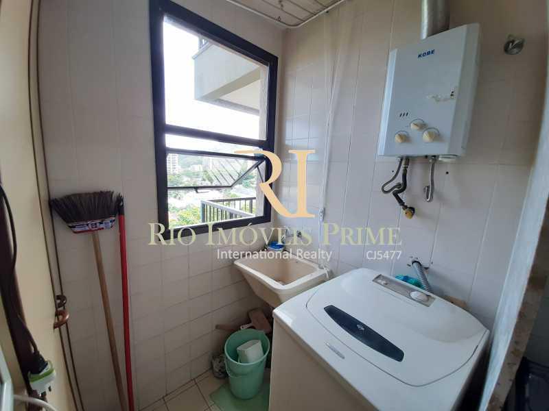 ÁREA SERVIÇO - Apartamento 2 quartos à venda Recreio dos Bandeirantes, Rio de Janeiro - R$ 550.000 - RPAP20211 - 10