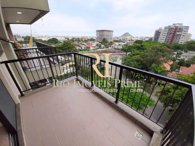 VARANDA SUÍTE - Apartamento 2 quartos à venda Recreio dos Bandeirantes, Rio de Janeiro - R$ 550.000 - RPAP20211 - 13