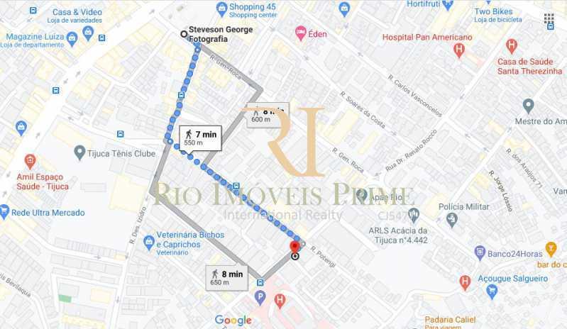 19 DISTANCIA METRO - Apartamento à venda Rua Bom Pastor,Tijuca, Rio de Janeiro - R$ 430.000 - RPAP20212 - 20