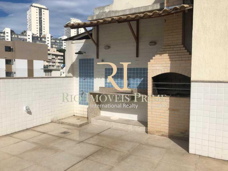 16 CHURRASQUEIRA PRÉDIO. - Apartamento à venda Rua General Polidoro,Botafogo, Rio de Janeiro - R$ 799.900 - RPAP20213 - 17