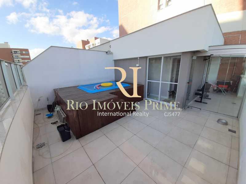 TERRAÇO - Cobertura 3 quartos à venda Barra Olímpica, Rio de Janeiro - R$ 1.149.900 - RPCO30023 - 1