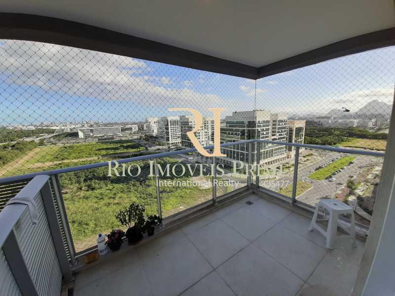 VARANDA - Cobertura 3 quartos à venda Barra Olímpica, Rio de Janeiro - R$ 1.249.900 - RPCO30023 - 6