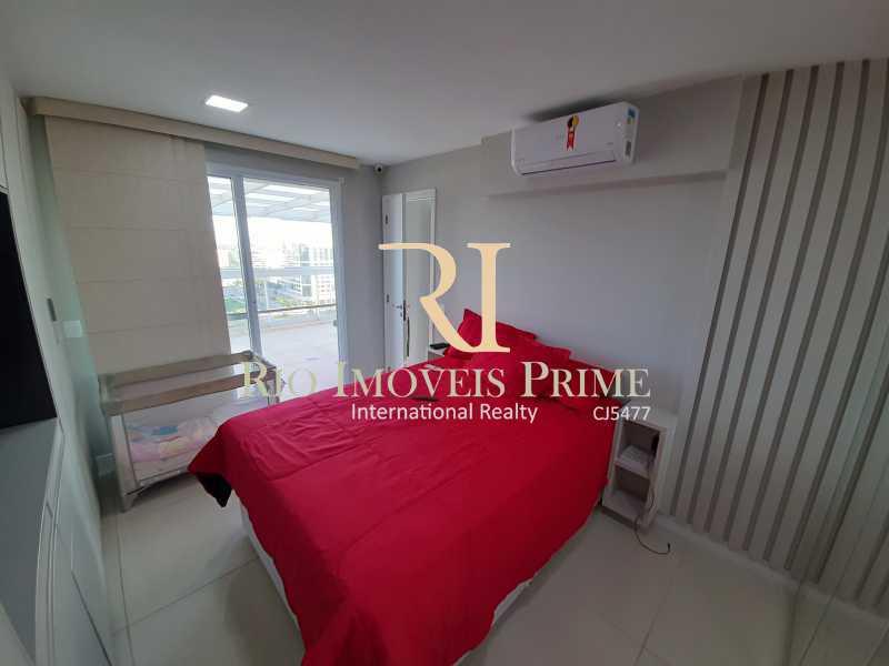 QUARTO3 - Cobertura 3 quartos à venda Barra Olímpica, Rio de Janeiro - R$ 1.249.900 - RPCO30023 - 17