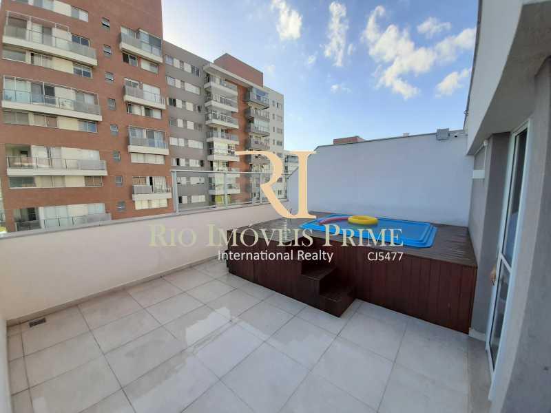 TERRAÇO - Cobertura 3 quartos à venda Barra Olímpica, Rio de Janeiro - R$ 1.149.900 - RPCO30023 - 19