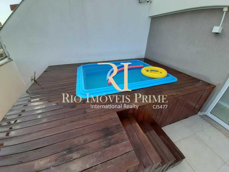 TERRAÇO - Cobertura 3 quartos à venda Barra Olímpica, Rio de Janeiro - R$ 1.249.900 - RPCO30023 - 20