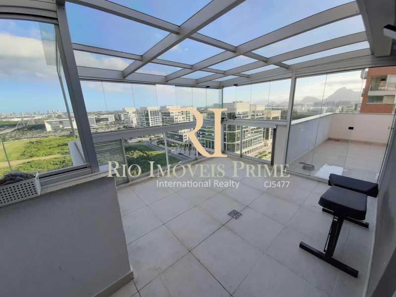 VARANDA QUARTO3 - Cobertura 3 quartos à venda Barra Olímpica, Rio de Janeiro - R$ 1.149.900 - RPCO30023 - 22