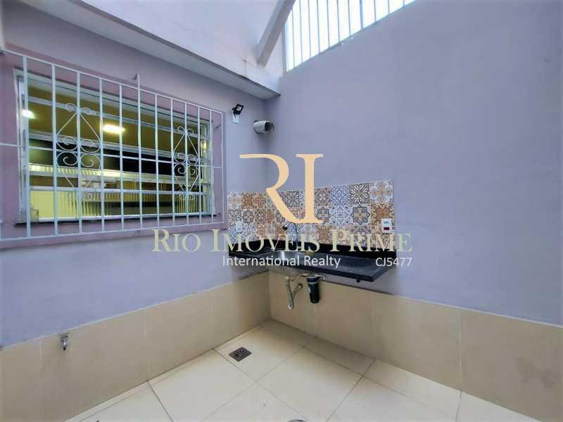 8 BANCADA EXTERNA - Casa de Vila à venda Rua Barão do Bom Retiro,Vila Isabel, Rio de Janeiro - R$ 799.999 - RPCV30006 - 10