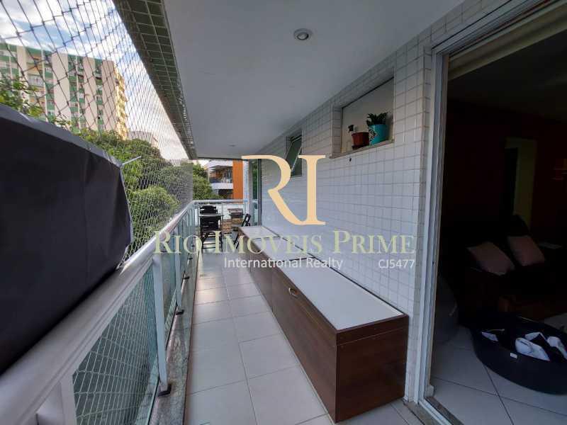 1 - VARANDA. - Apartamento 2 quartos à venda Tijuca, Rio de Janeiro - R$ 649.999 - RPAP20220 - 3
