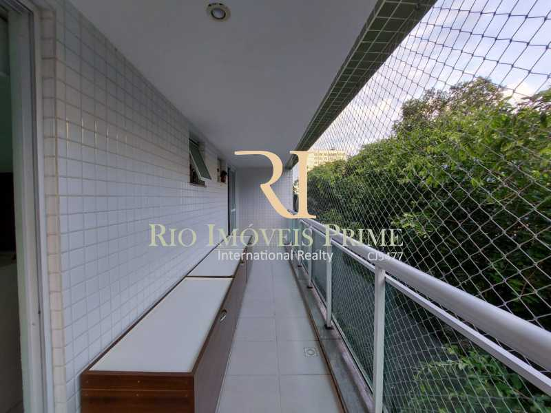 2 - VARANDA. - Apartamento 2 quartos à venda Tijuca, Rio de Janeiro - R$ 649.999 - RPAP20220 - 4