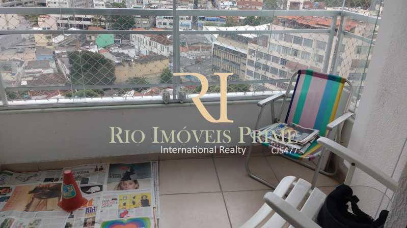 VARANDA - Apartamento 3 quartos à venda Rio Comprido, Rio de Janeiro - R$ 460.000 - RPAP30006 - 6