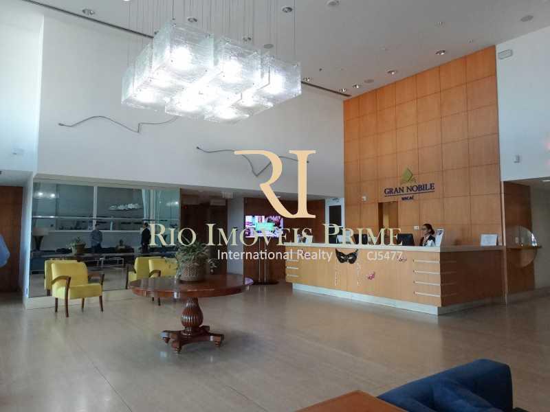 RECEPÇÃO - Flat 1 quarto à venda Glória, Macaé - R$ 85.000 - RPFL10104 - 6