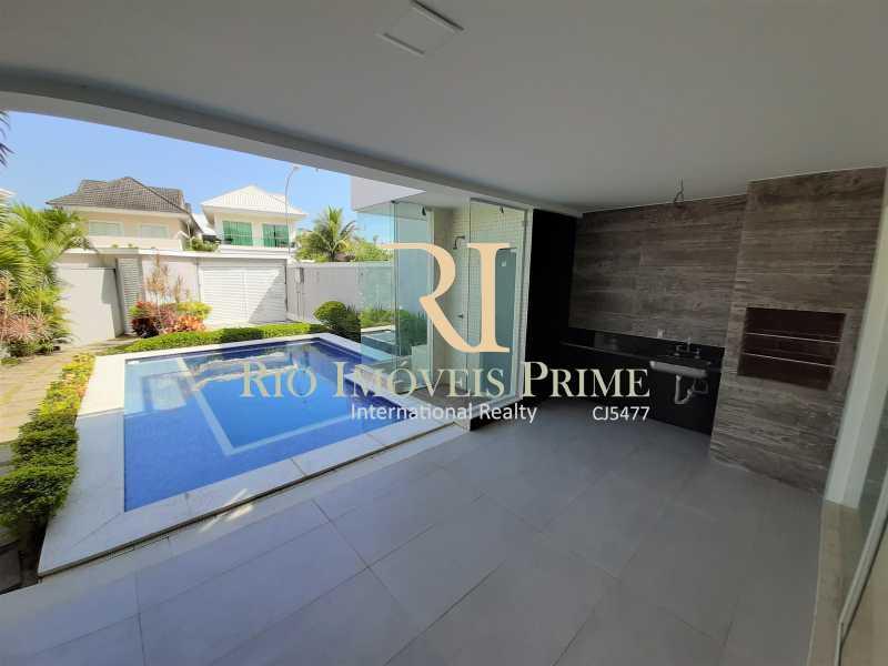 CHURRASQUEIRA - Casa em Condomínio 5 quartos à venda Recreio dos Bandeirantes, Rio de Janeiro - R$ 1.750.000 - RPCN50003 - 4