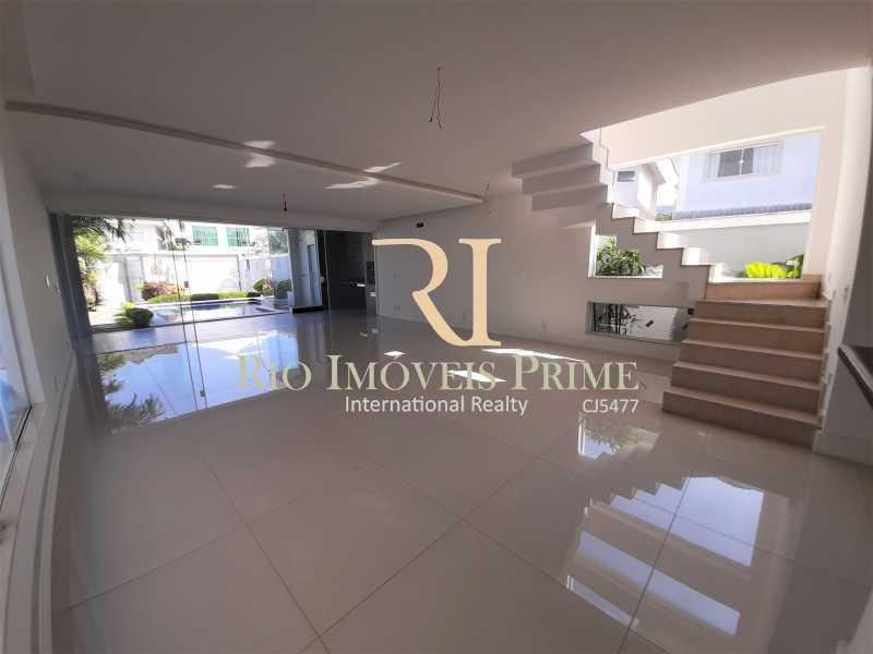 SALÃO - Casa em Condomínio 5 quartos à venda Recreio dos Bandeirantes, Rio de Janeiro - R$ 1.750.000 - RPCN50003 - 5