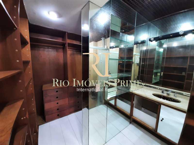 CLOSET-BANHEIRO SUÍTE1 - Apartamento à venda Rua Santa Clara,Copacabana, Rio de Janeiro - R$ 1.399.900 - RPAP20224 - 11