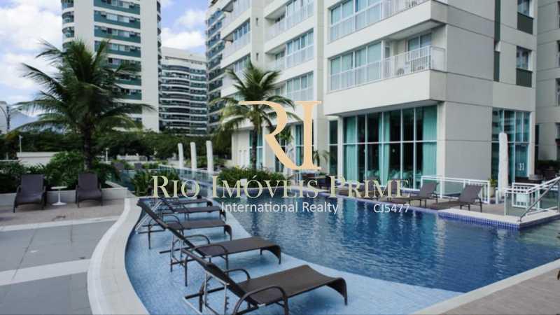 PISCINA - Flat 2 quartos para alugar Jacarepaguá, Rio de Janeiro - R$ 2.000 - RPFL20036 - 14