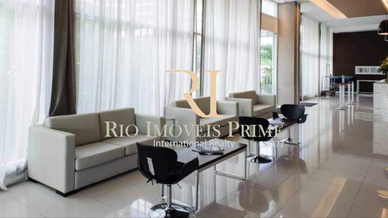 HALL DE ENTRADA - Flat 2 quartos para alugar Jacarepaguá, Rio de Janeiro - R$ 2.000 - RPFL20036 - 20