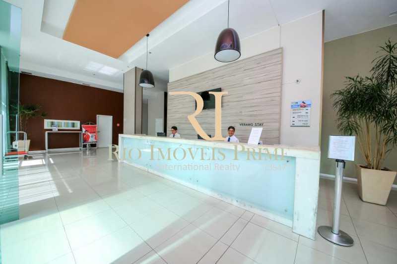 PORTARIA - Flat 2 quartos para alugar Jacarepaguá, Rio de Janeiro - R$ 2.000 - RPFL20036 - 23