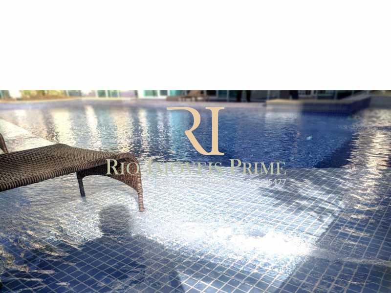 DECK PISCINA - Flat 2 quartos para alugar Jacarepaguá, Rio de Janeiro - R$ 2.000 - RPFL20036 - 17