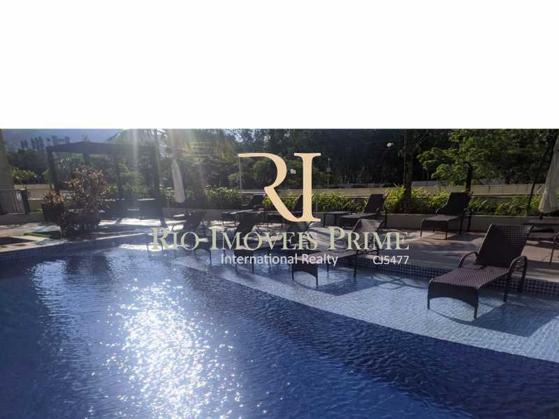 PISCINA - Flat 2 quartos para alugar Jacarepaguá, Rio de Janeiro - R$ 2.000 - RPFL20036 - 16