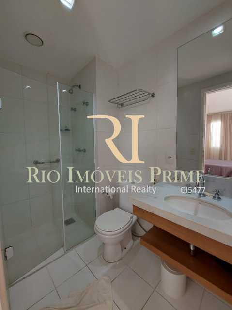 BANHEIRO SUÍTE 1 - Flat 2 quartos para alugar Jacarepaguá, Rio de Janeiro - R$ 2.000 - RPFL20036 - 7