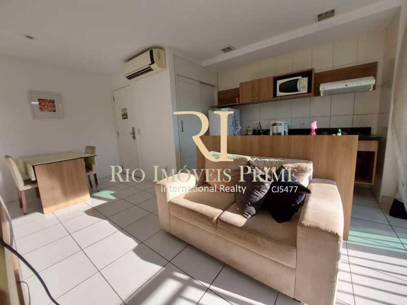 SALA - Flat 2 quartos para alugar Jacarepaguá, Rio de Janeiro - R$ 2.000 - RPFL20036 - 5