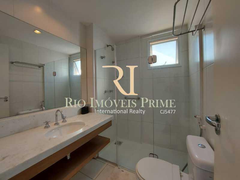 BANHEIRO SUÍTE 2 - Flat 2 quartos para alugar Jacarepaguá, Rio de Janeiro - R$ 2.000 - RPFL20036 - 13