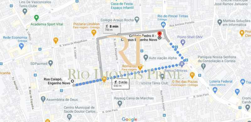 DISTÂNCIA COLÉGIO PEDRO I - Apartamento à venda Rua Caiapó,Engenho Novo, Rio de Janeiro - R$ 280.000 - RPAP20229 - 21