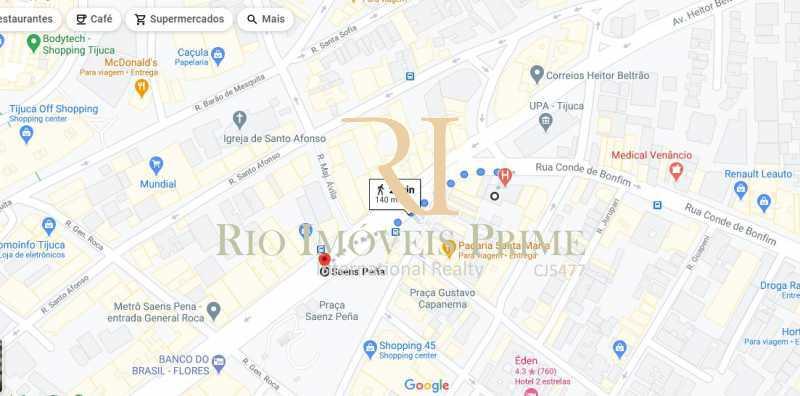 DISTÂNCIA METRÔ - Sala Comercial 26m² à venda Rua Conde de Bonfim,Tijuca, Rio de Janeiro - R$ 230.000 - RPSL00025 - 17
