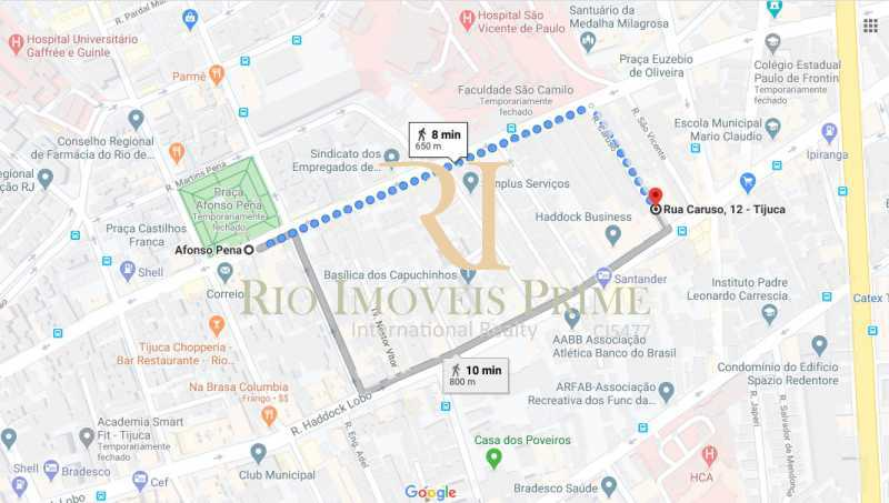 DISTÂNCIA METRÔ - Kitnet/Conjugado 20m² para alugar Rua Caruso,Tijuca, Rio de Janeiro - R$ 999 - RPKI10006 - 15