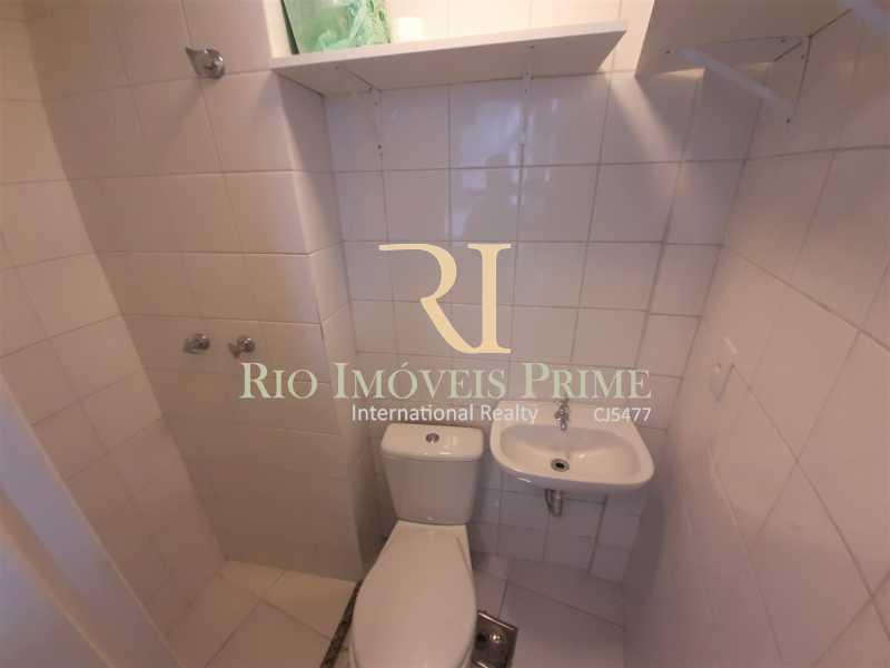 BANHEIRO SERVIÇO - Apartamento 3 quartos à venda Tijuca, Rio de Janeiro - R$ 812.000 - RPAP30139 - 10
