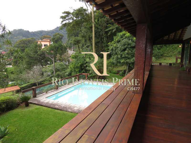 2 VARANDA - Teresópolis, Granja Comary, casa em condomínio - RPCN60003 - 3