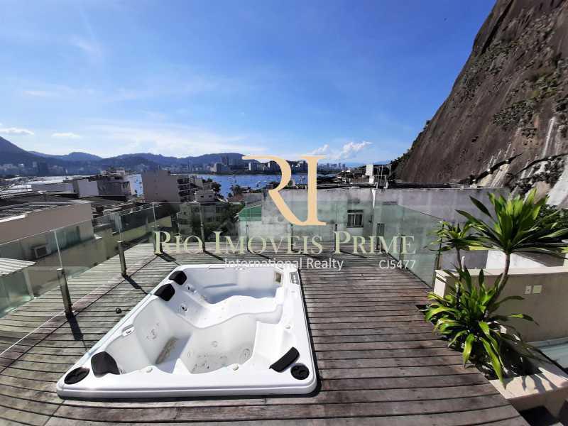 TERRAÇO - Cobertura para venda e aluguel Rua Ramon Franco,Urca, Rio de Janeiro - R$ 9.000.000 - RPCO50001 - 25