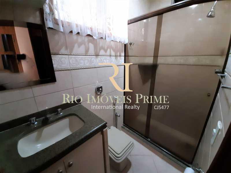 BANHEIRO SOCIAL - Casa de Vila à venda Rua Dona Delfina,Tijuca, Rio de Janeiro - R$ 1.950.000 - RPCV50002 - 11