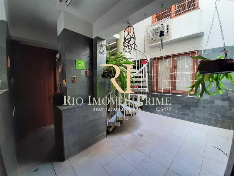 ÁREA EXTERNA - Casa de Vila à venda Rua Dona Delfina,Tijuca, Rio de Janeiro - R$ 1.950.000 - RPCV50002 - 14