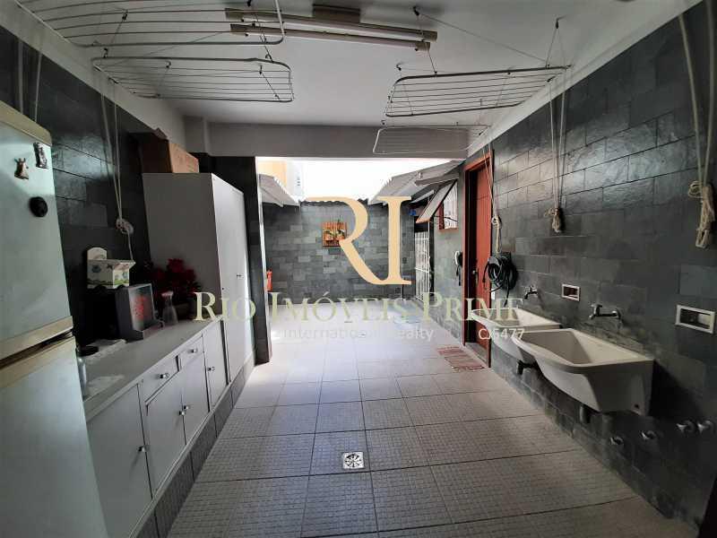 ÁREA EXTERNA - Casa de Vila à venda Rua Dona Delfina,Tijuca, Rio de Janeiro - R$ 1.950.000 - RPCV50002 - 15