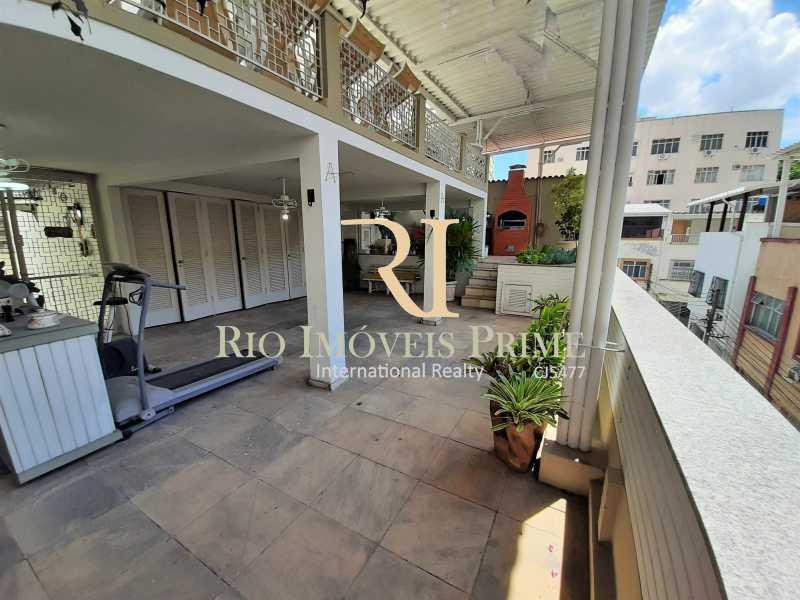TERRAÇO - Casa de Vila à venda Rua Dona Delfina,Tijuca, Rio de Janeiro - R$ 1.950.000 - RPCV50002 - 24