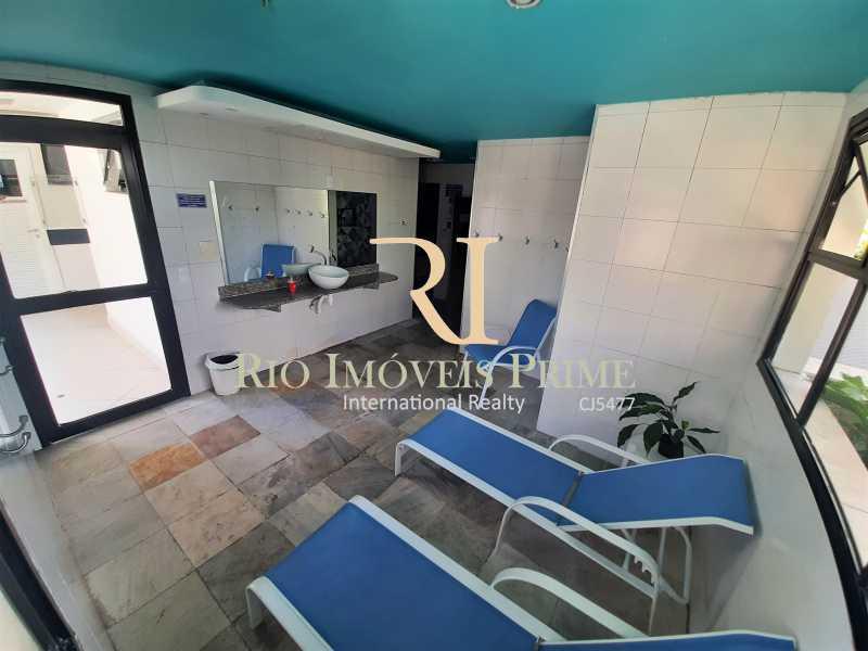 SPA E SAUNAS - Apartamento 3 quartos à venda Recreio dos Bandeirantes, Rio de Janeiro - R$ 600.000 - RPAP30142 - 20